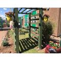 Our fantastic new prayer garden