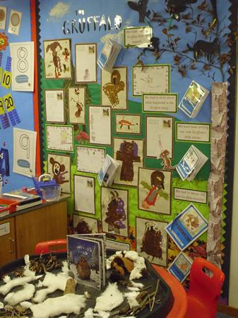 Our Gruffalo display