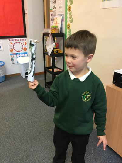 We've had lots of fun making our rockets!