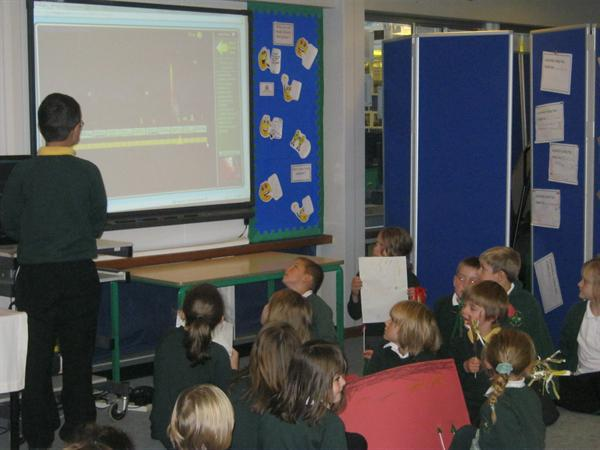 ICT helps to present our ideas and work