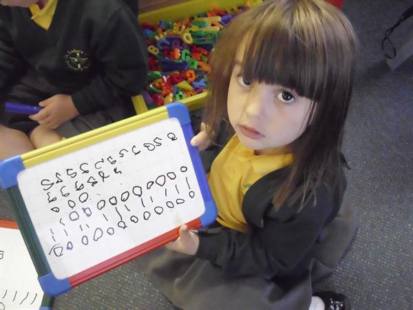 Super number writing
