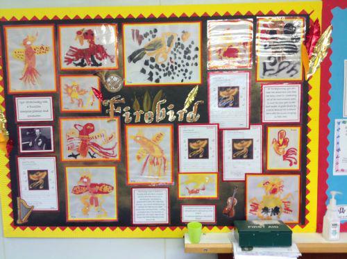 Our fantastic Firebird display