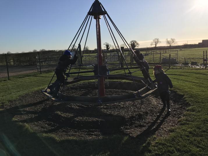 Spinning our friends around
