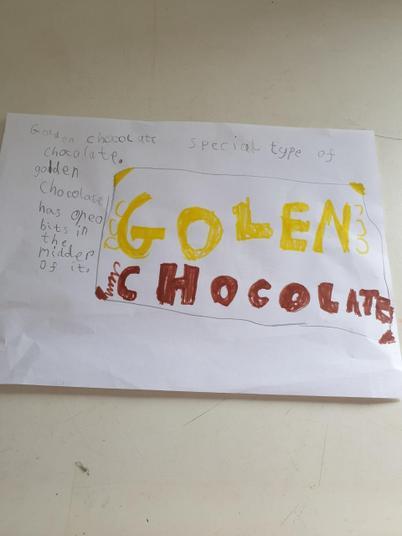 A great chocolate bar design