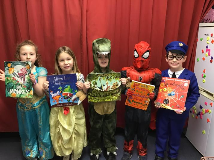 Look who came to world book day!