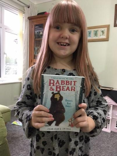 This book is called Rabbit and Bear Year 2! It's a very good book to read!