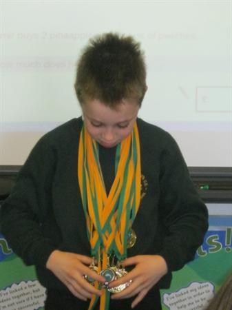 How many medals Luke???