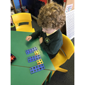 Numicon patterns.