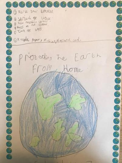 Protecting the earth poster!