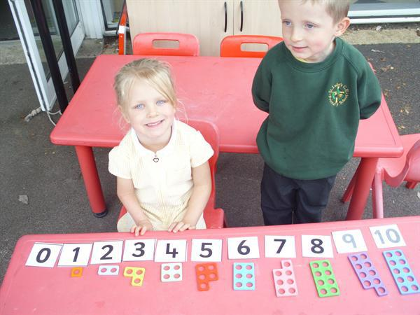 numicon number lines.