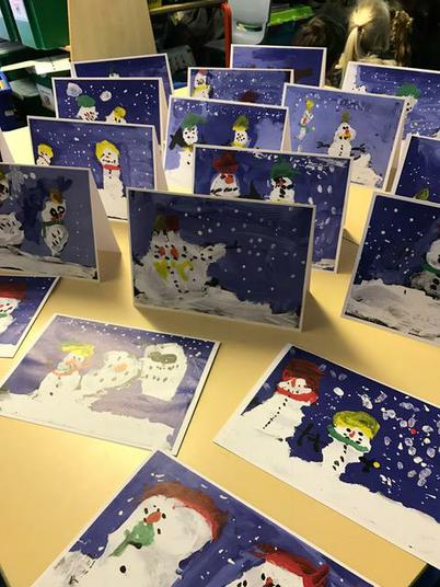 The finished cards - Wow!