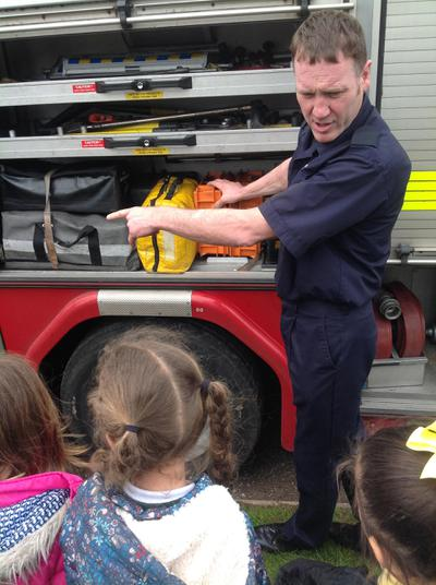 How many tools are in this fire engine?