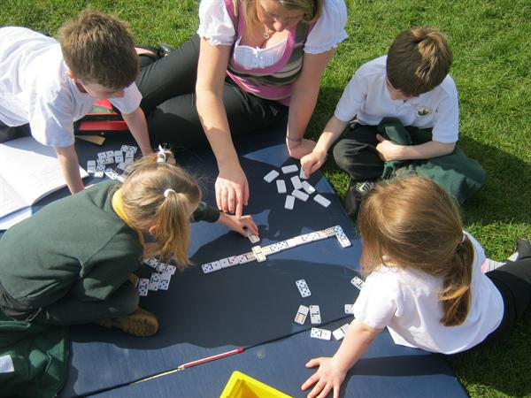 Numeracy games reinforcing learning in maths