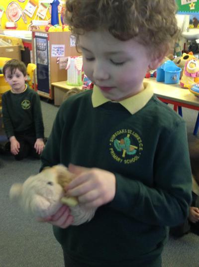 'This belonged to my mummy'.