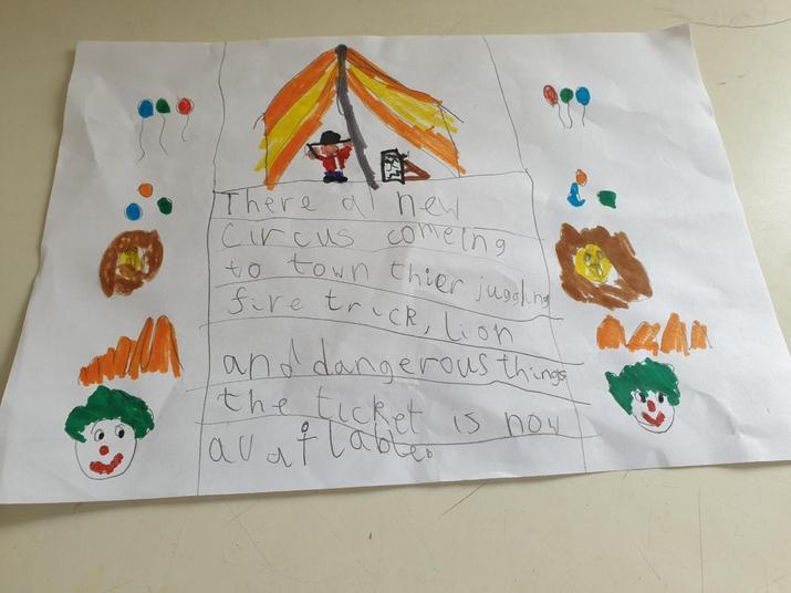 A circus poster!