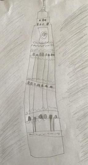 A sketch of Big Ben