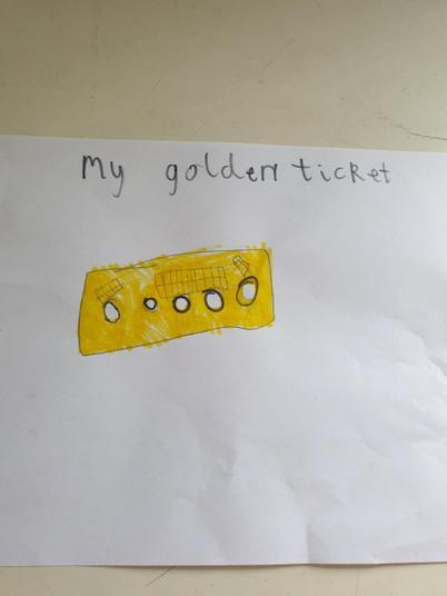 A golden ticket!