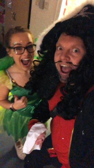 Mr Hook and Tink!