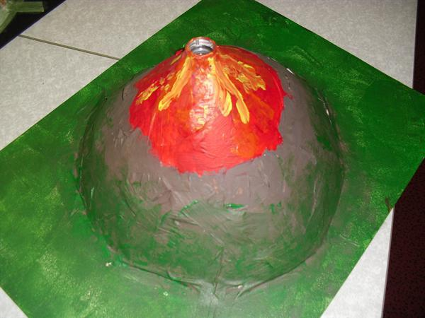 Our volcano!