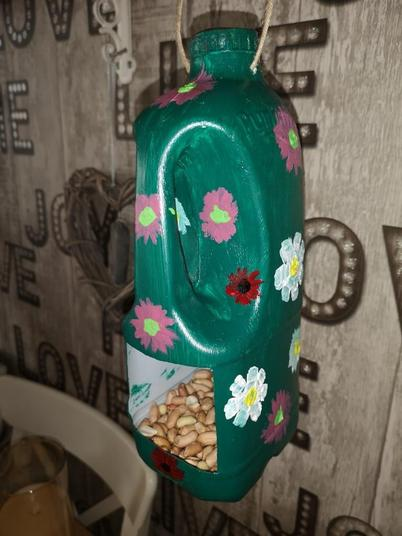 This bird feeder will look fantastic in the garden