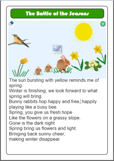A great poem about Winter and Spring.
