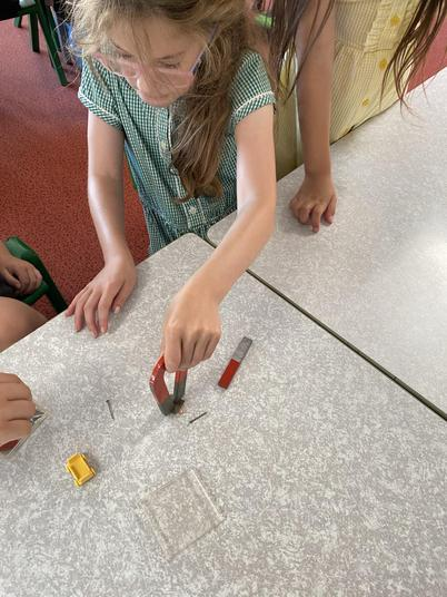 Using different strength magnets