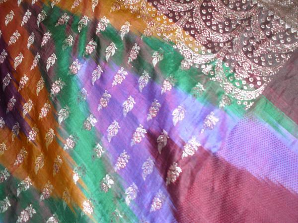 Rainbow sari