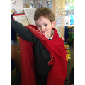 I made my own cape!
