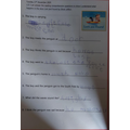 Great reading comprehension skills!
