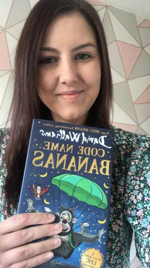 Miss Tomlinson recommends Code Name Bananas by David Walliams