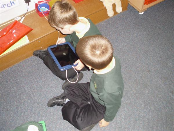 Sharing our class IPad.