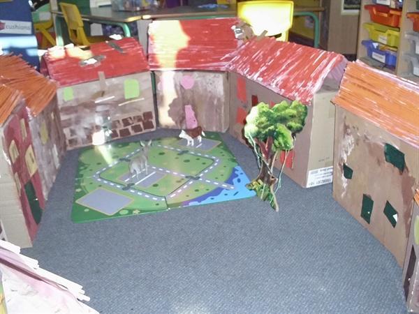 Our model village