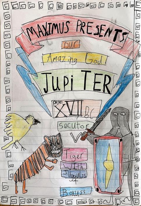 By Jove - Maximus has chosen Jupiter!