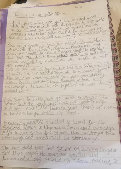 Emilie's embellished myth part 1
