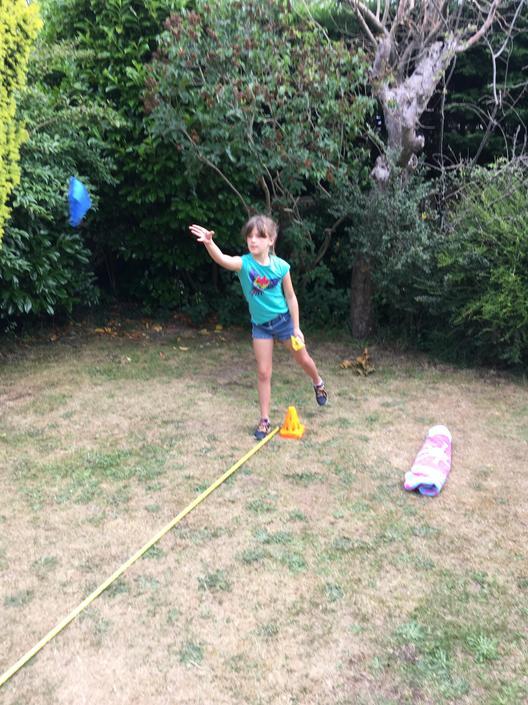 Daisy's throw