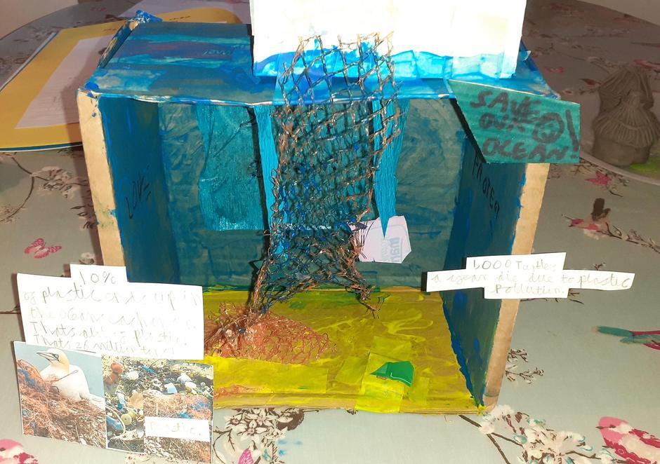 Isaac's Plastic Ocean