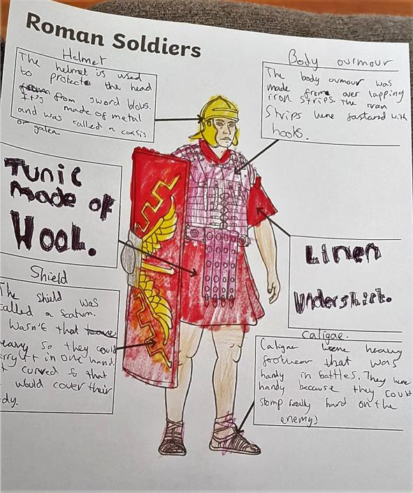 Ida's labelled legionary