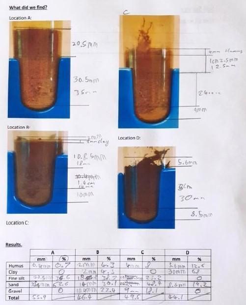 Carry out a sedimentation test.