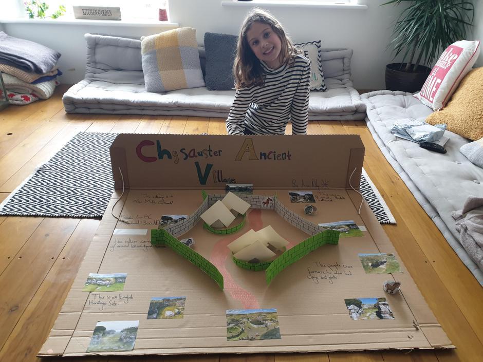 Ava's 3d ancient village project