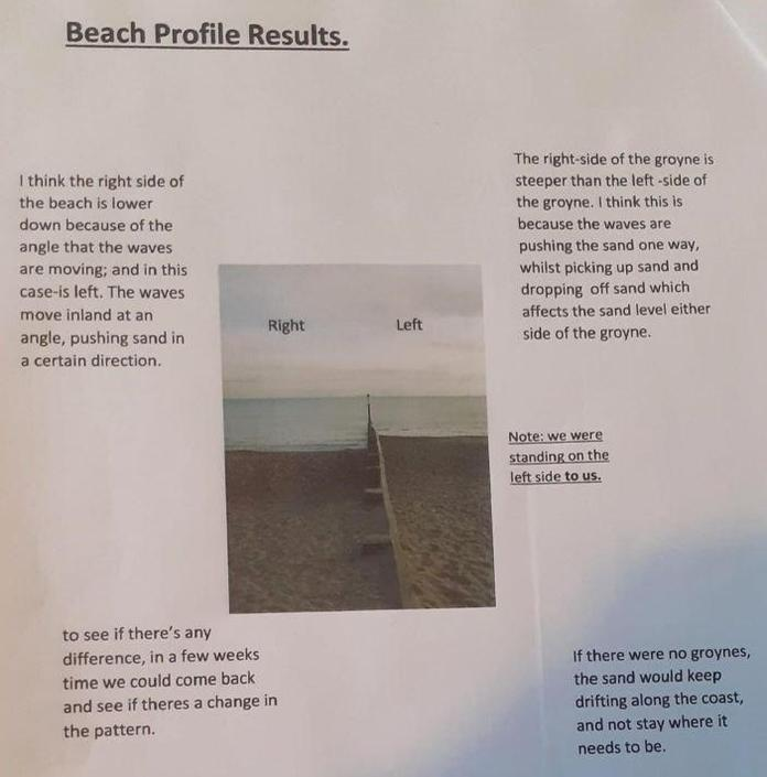 you can survey and create beach profiles,