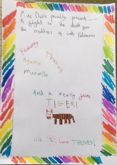 Miss Davis honours Felineous. (Of course!)