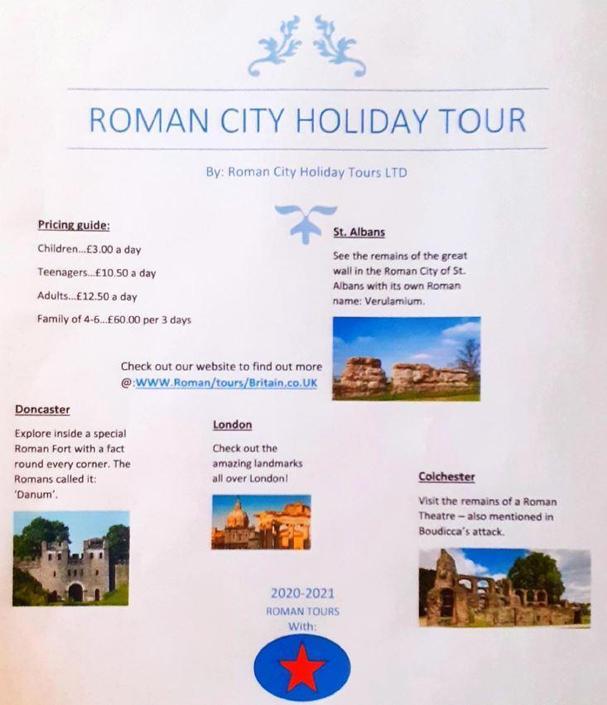Organizing tours