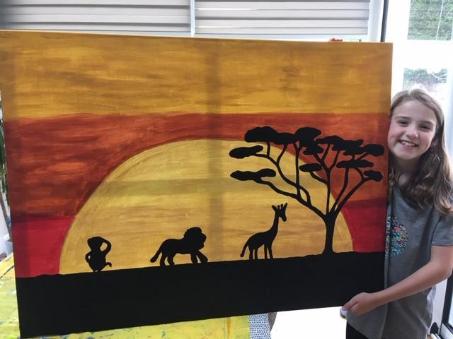 Holly's art to accompany her story