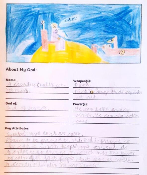 Creating a god