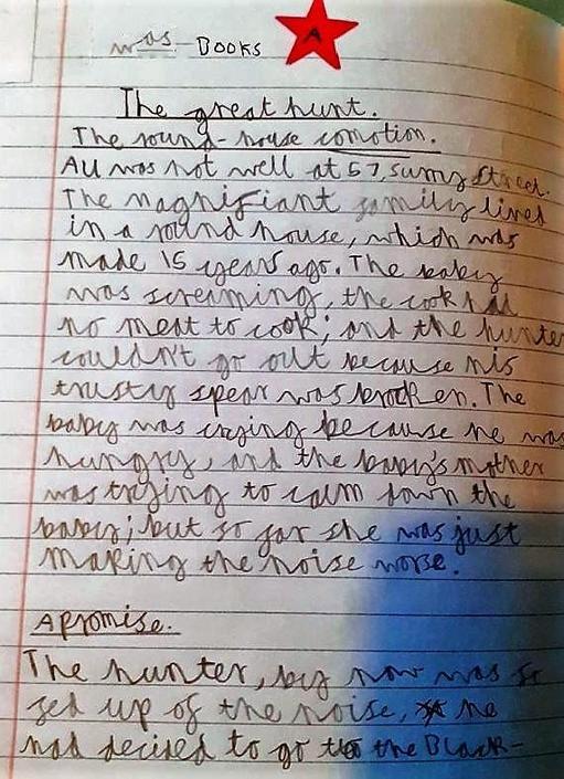 Isaac's Hunter's Story