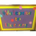 Welcome to Nursery