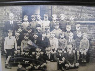 A boy's class