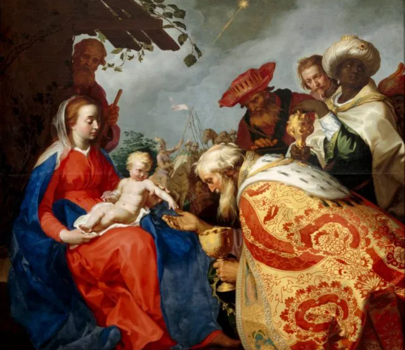 Abraham_Bloemaert_-_The_adoration_of_the_Magi_-_Google_Art_Project Wikimedia Commons