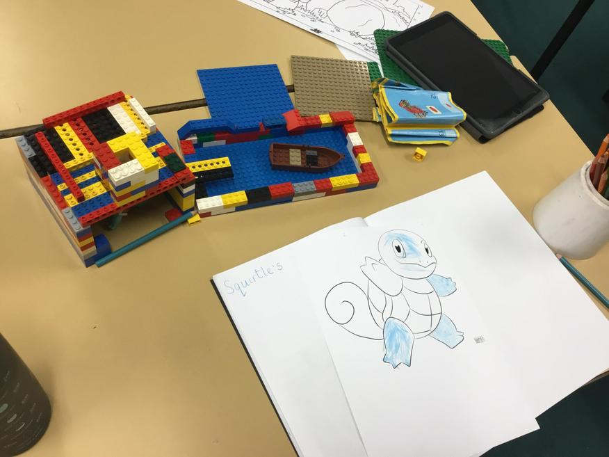 A lego house for Squirtle
