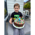 Birthday cake - mmmmm!